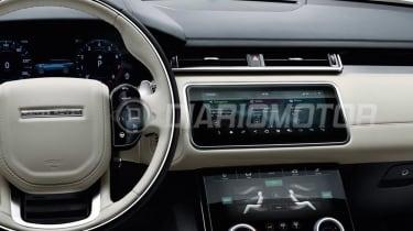 Range Rover Velar - leaked dash
