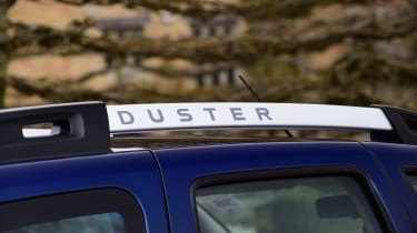 Dacia Duster automatic 2017 - roof rail