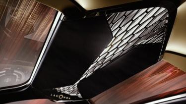 Aston Martin Lagonda Vision concept - roof detail
