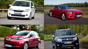 The best new cars for under £200 a month - header