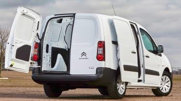 Citroen Berlingo Electric L2  - rear door open
