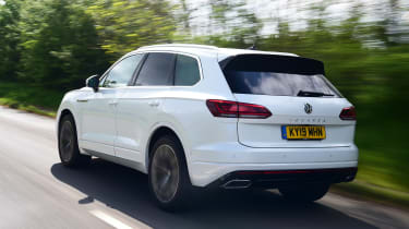 Volkswagen Touareg long termer - first report rear