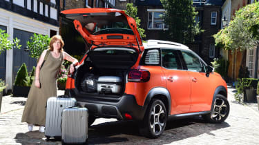 Citroen C3 Aircross - luggage