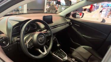 US Toyota Yaris - New York dash