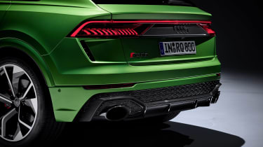 Audi RS Q8 - rear detail studio