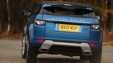 Range Rover Evoque Coupe rear cornering