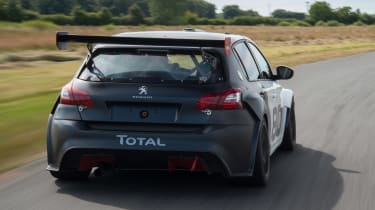Peugeot 308 Racing Cup - rear action