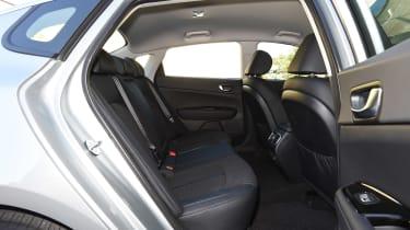 Kia Optima PHEV - rear seats