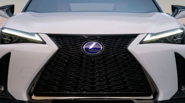 Lexus UX official front end