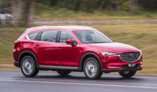Mazda CX-8 - front