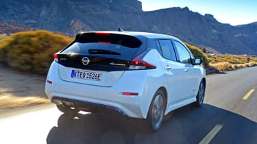 Nissan Leaf - rear