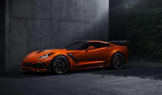 Chevrolet Corvette ZR1 Sebring Orange front