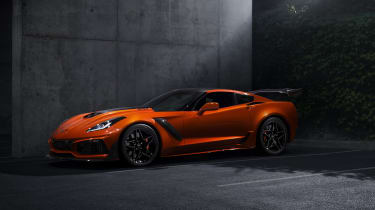Chevrolet Corvette ZR1 Sebring Orange front