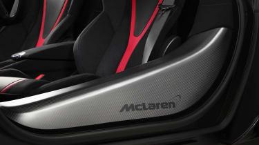 McLaren 720S Velocity interior