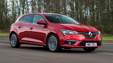 Renault Megane diesel - front