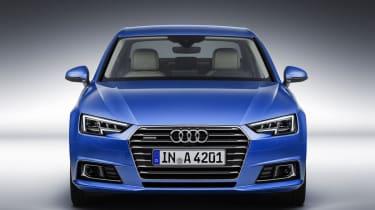 Audi A4 - head on
