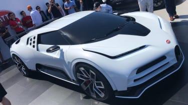 Bugatti Centodieci - front Pebble Beach