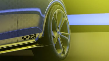 Volkswagen Golf GTI TCR - wheel sketch