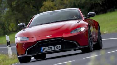 Aston Martin Vantage AMR - front action