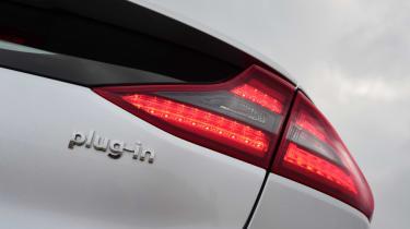 Hyundai Ioniq - rear light detail