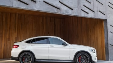 Mercedes-AMG GLC 63 Coupe side