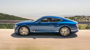 Bentley Continental GT - side action