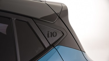 Hyundai i10 - side detail studio