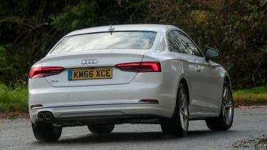 Audi A5 Coupe 2.0 TDI - rear cornering