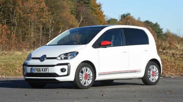Volkswagen up! 1.0 TSI petrol - front static