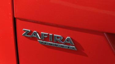 Vauxhall Zafira Tourer badge