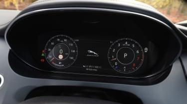 Jaguar E-Pace review - speedo