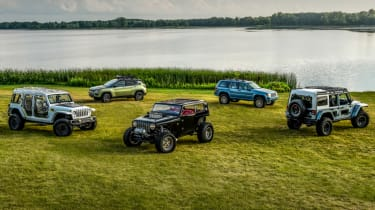 Jeep's wildest concepts driven - header