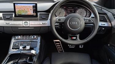 Audi S8 Plus 2016 - interior