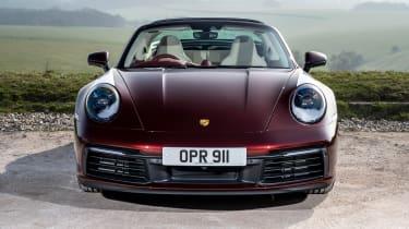 Porsche 911 Targa 4S Heritage Design Edition - full front