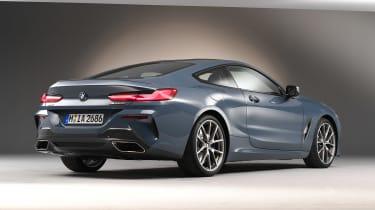 BMW 8 Series - studio rear