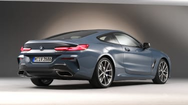 BMW 8 Series - studio rear
