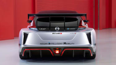 Nissan Leaf Nismo RC - full rear studio