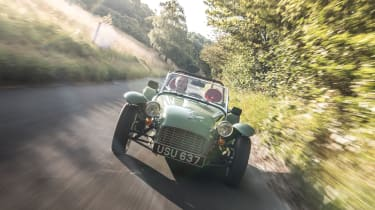 Caterham Seven Sprint - front tracking 3
