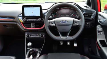 Ford Fiesta ST-Line interior