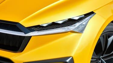 Skoda Vision iV concept - front light