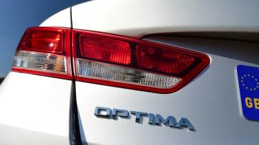 Kia Optima - badge