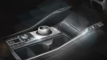 Kia Sorrento - sketch - centre console