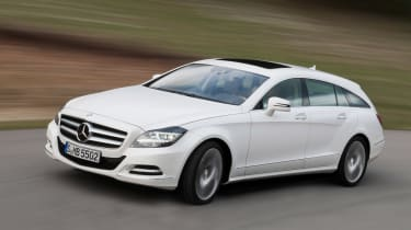 Mercedes CLS 250 CDI Shooting Brake front action