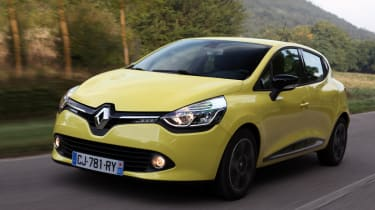 New Renault Clio front tracking