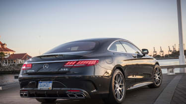 Mercedes-AMG S 63 Coupe 2018 rear