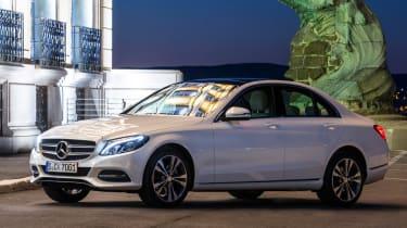 Mercedes C200 BlueTec static