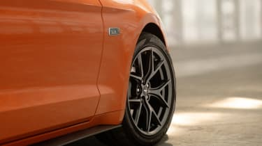 Ford Mustang High Performance Package - side detail