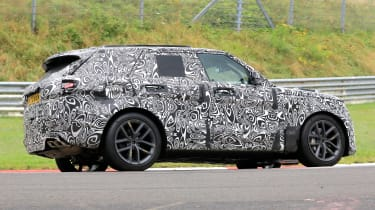 Range Rover SVR - spyshot 4