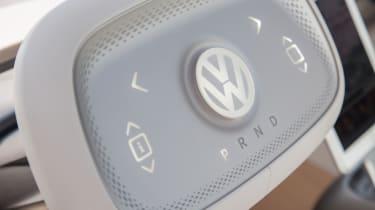 Volkswagen I.D. Buzz concept review - steering wheel