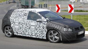 VW Golf GTI front side